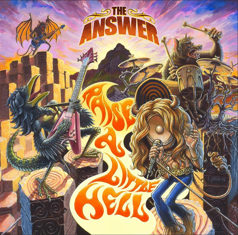 THE ANSWER, RAISE A LITTLE HELL (2015)- NOWY HARD ROCK W STARYM STYLU