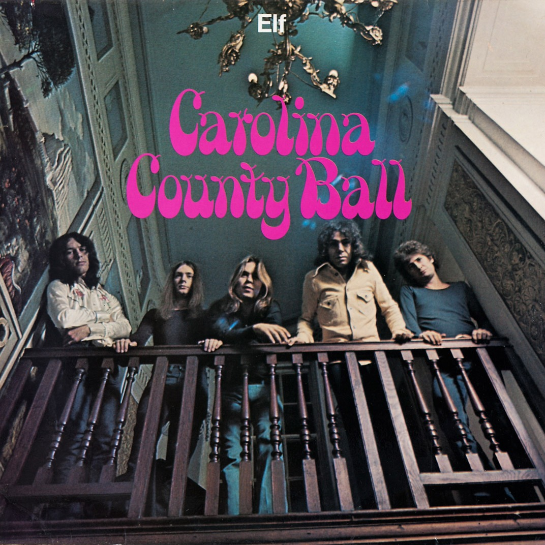 BLUES ROCK Z PODRĘCZNIKIEM W RĘKU, ELF, CAROLINA COUNTY BALL (1974)