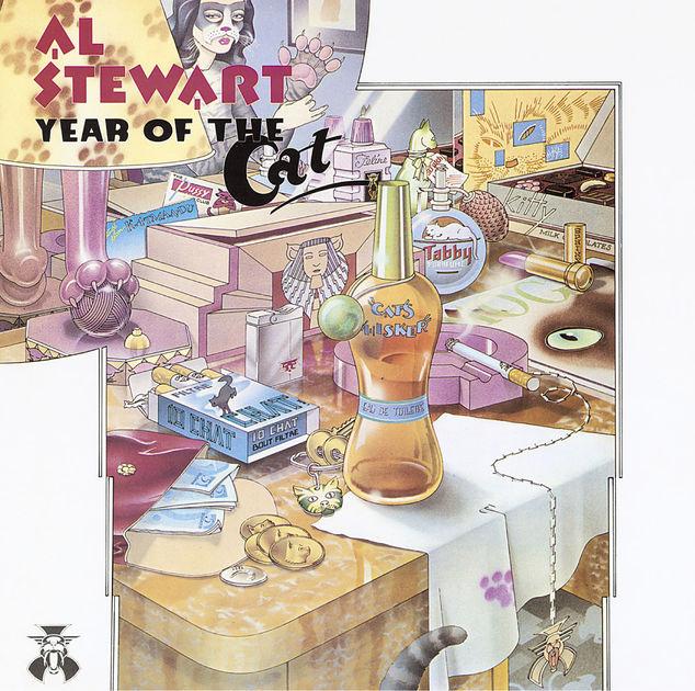 JACKA LIERSCHA RARYTASY Z ZAKURZONEJ GRAJĄCEJ SZAFY: AL STEWART, YEAR OF THE CAT
