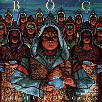 FIRE OF UNKNOWN ORIGIN, BLUE ÖYSTER CULT (1981)