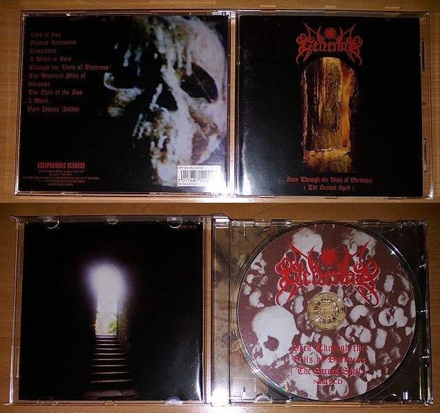 GEHENNA- SEEN THROUGH THE VEILS OF DARKNESS (THE SECOND SPELL) 1995
