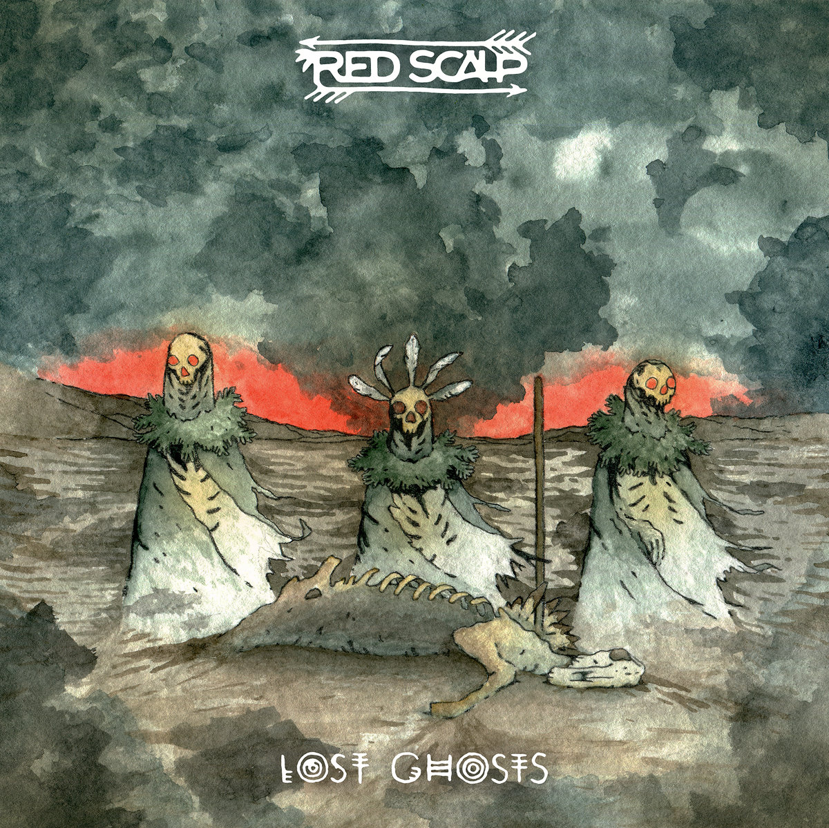LOST GHOSTS, RED SCALP (2017)