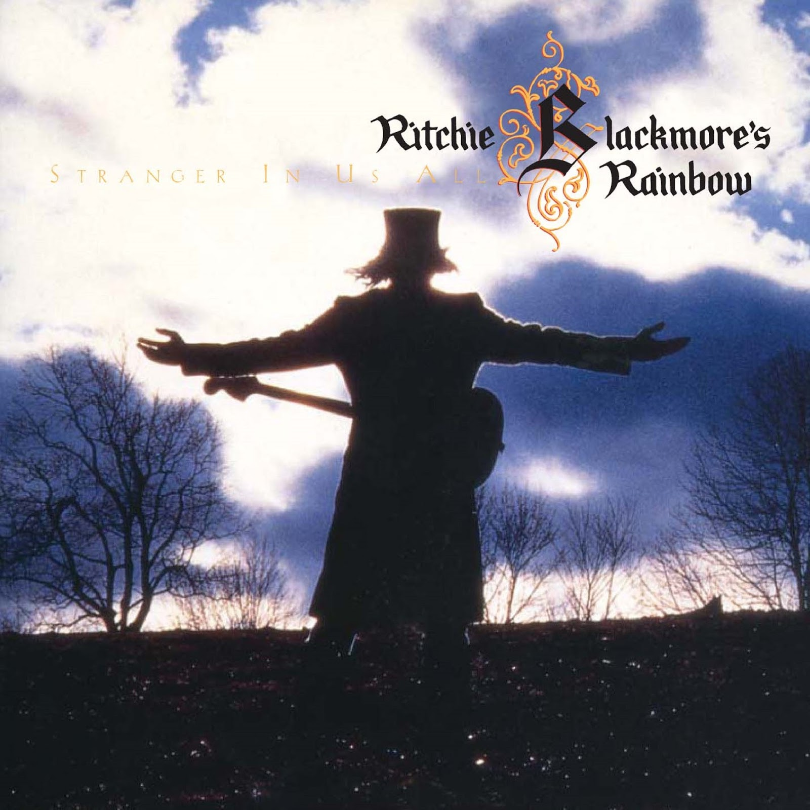 NIECHCIANY ALBUM RITCHIE'GO BLACKMORE'A, RAINBOW, STRANGER IN US ALL