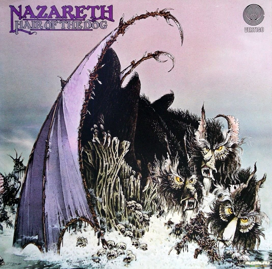 PŁYTA NIEMAL WYBITNA, NAZARETH, HAIR OF THE DOG (1975)