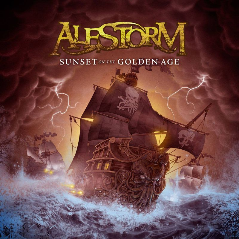 RUM I SZABLA W DŁOŃ, ALESTORM, SUNSET ON THE GOLDEN AGE (2014)