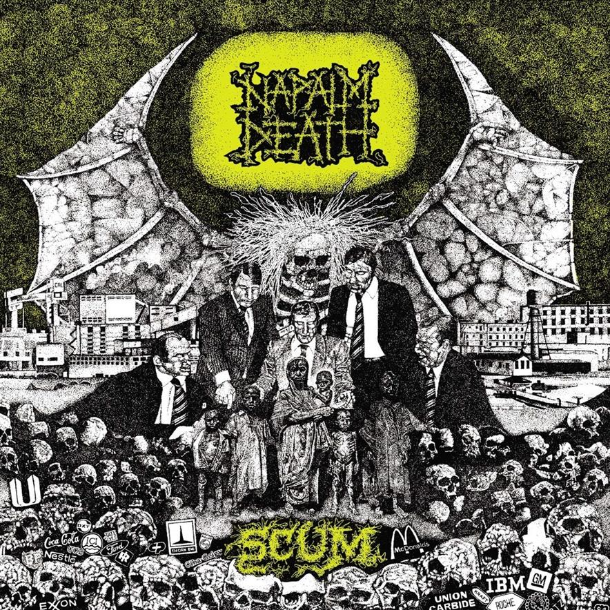 NAPALM DEATH – SCUM (1987)