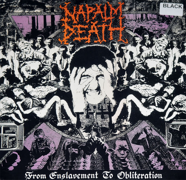 NAPALM DEATH – FROM ENSLAVEMENT TO OBLITERATION (1988)